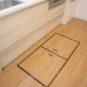 床下収納スペースがあり、スットクする場所があり、とても便利です。