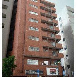 小田急小田原線「本厚木」駅徒歩4分、1982年築、9階建ての8階住戸、エレベーター付き。(外観)