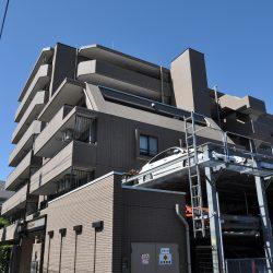 大京アステージ管理のため、建物のメンテナンス状態は良好です。(外観)