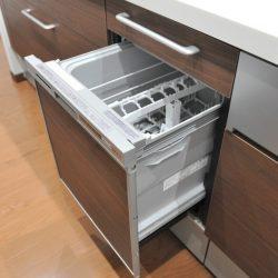 食洗器付き、忙しい奥様には大変便利な設備です。食器が少なければ、洗って乾燥のみも可能です。(キッチン)