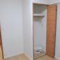 内装 洋室3の収納は、少々少ないですが、トールタイプのため収納力はある程度確保可能です。