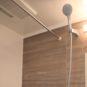 風呂 浴室乾燥・暖房機、24時間換気機能付き。