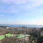 オーシャンビュー、高台のため相模湾を一望。陽当たり・開放感がある土地です。