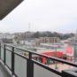 7階建ての6階住戸、遮る物が少ない為、開放的な眺望と、お陽当たりは大変良好です。