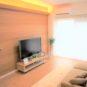居間 【リノベ工事完了】南向き、3階、陽当たり良好!3DKオールフローリング仕様、使い勝手の良い間取です。エアコン2台設置